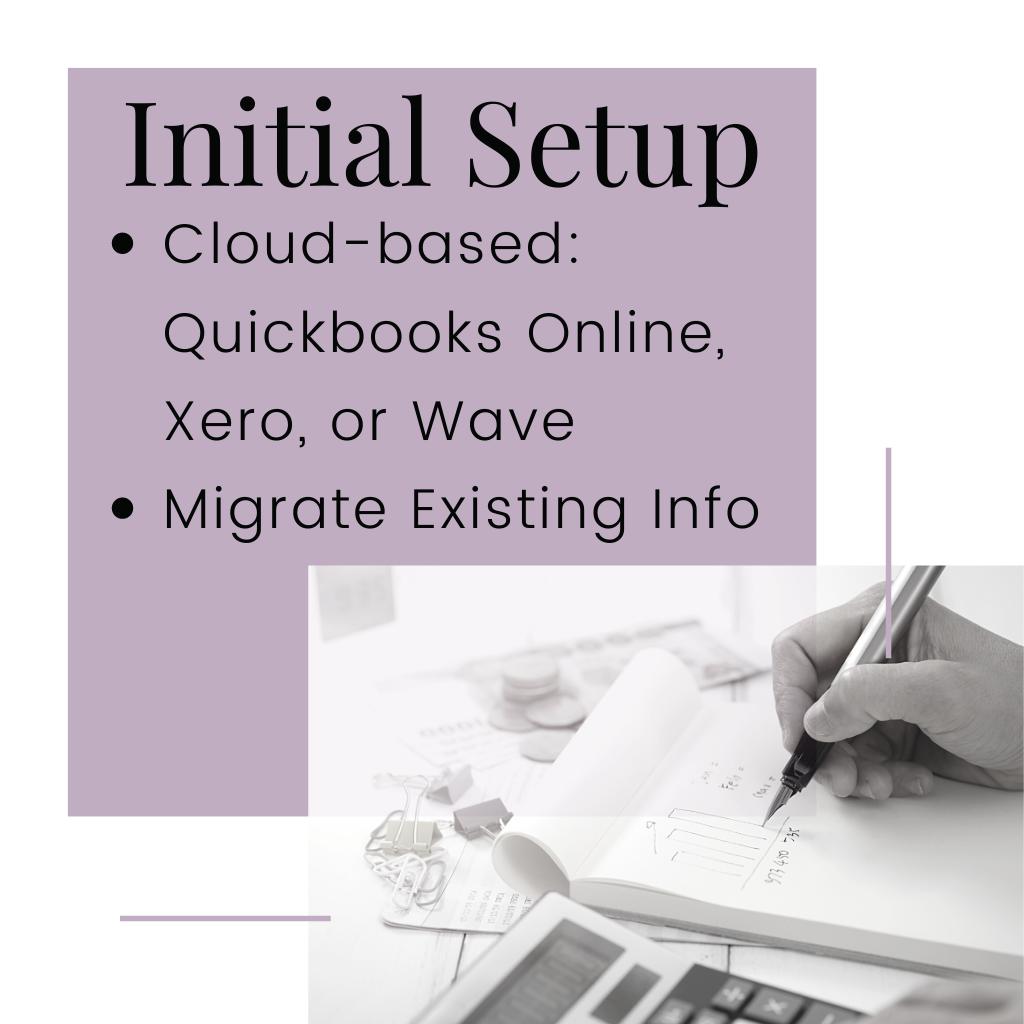 Setup Accounting Software